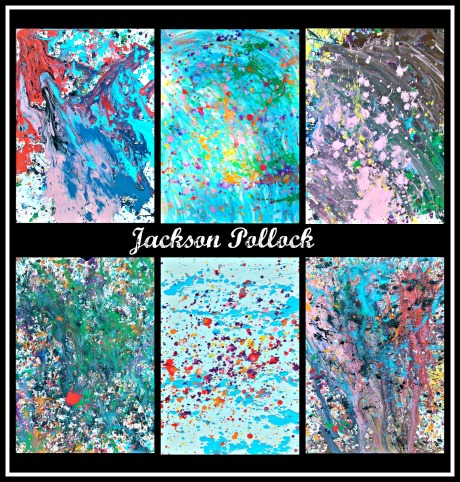 Jackson Pollock Collage