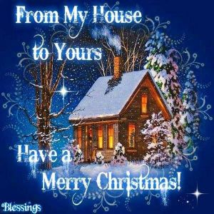 frommy house to yours merry christmas